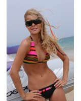 Graciosa Bikini in brilliant colours and black