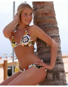 Playa Blanca Trouser bikini thong and tops