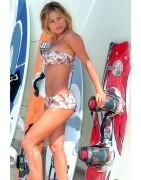 Cuba Bandeau Bikini Hot Shorts
